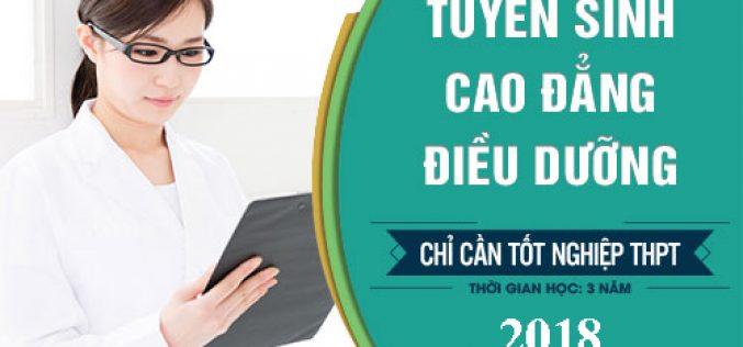 Hồ sơ tuyển sinh Cao đẳng Điều dưỡng Sài Gòn năm 2018