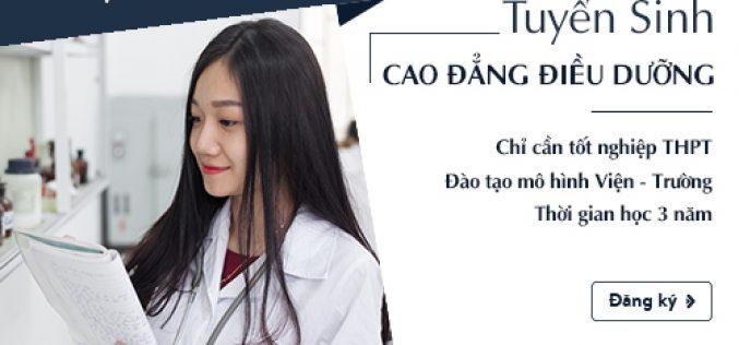 Điều kiện xét tuyển Cao đẳng Điều dưỡng Sài Gòn năm 2018