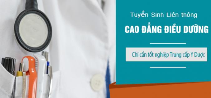 Tuyển sinh Liên thông Cao đẳng Điều dưỡng Sài Gòn năm 2018