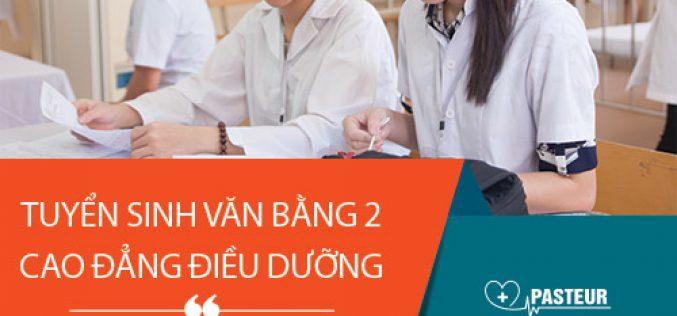 Hồ sơ xét tuyển Văn bằng 2 Cao đẳng Điều Dưỡng Sài Gòn năm 2018