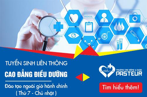 Hồ sơ tuyển sinh Liên thông Cao đẳng Điều dưỡng Sài Gòn năm 2018