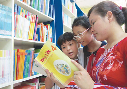 Chấm dứt tình trạng sách giáo khoa dùng một lần gây lãng phí