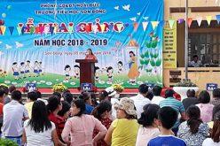 Sắp có kết luận kiểm tra vụ thu học phí tại trường Tiểu học Sơn Đồng