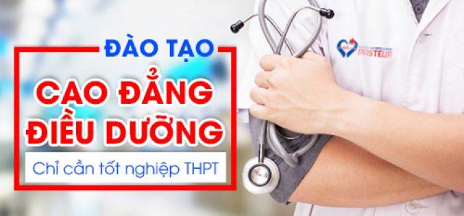Tuyển sinh Cao đẳng Điều dưỡng năm 2019 qua học bạ THPT