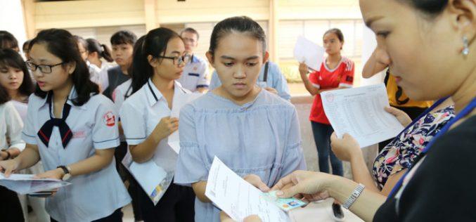 Nhiều trường dùng kết quả đánh giá năng lực để xét tuyển trong năm 2019