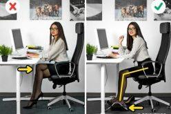 6 sai lầm khi ngồi làm việc của dân công sở