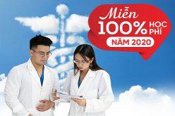 Hỗ trợ 100% học phí cho thí sinh xét tuyển Cao đẳng Y dược năm 2020