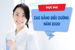 Phí đào tạo Cao đẳng Điều dưỡng năm 2020 là bao nhiêu?