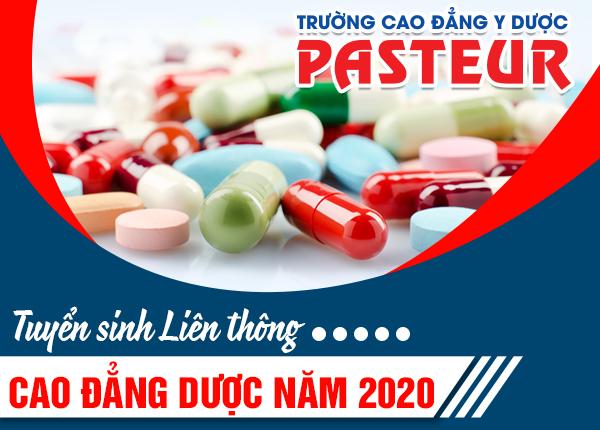 Tuyển sinh liên thông Cao đẳng Dược năm 2020