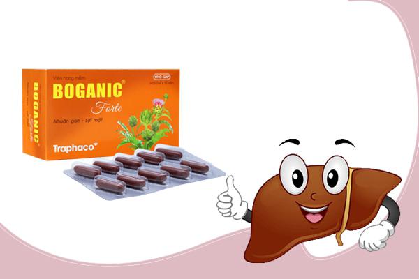 Hướng dẫn dùng thuốc bổ gan Boganic