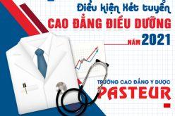 Điều kiện tuyển sinh Cao đẳng Điều dưỡng TPHCM năm 2021