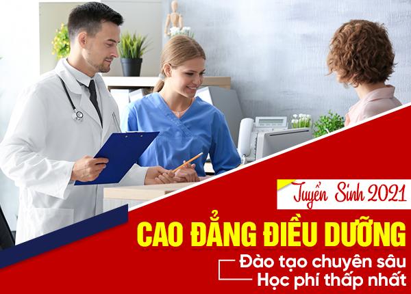 Tuyển sinh đào tạo Cao đẳng Điều dưỡng năm 2021