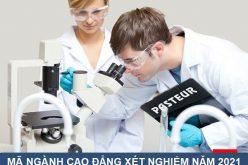 Thông tin về mã ngành Cao đẳng Xét nghiệm TPHCM năm 2021